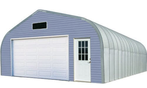 Quonset workshop garage