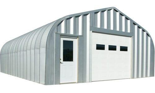 Quonset Garages Amp Quonset Hut Garage Kits Steel