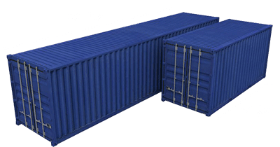 sizes of storage containers