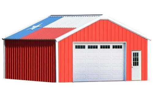 18x20 metal building garage