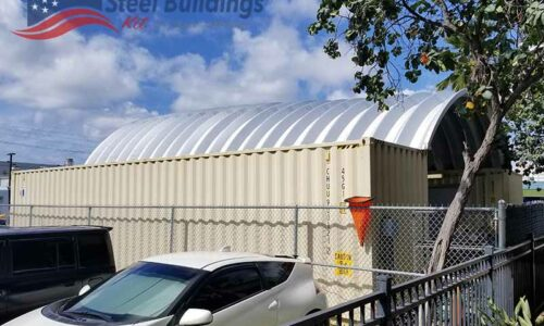 storage container roof kits