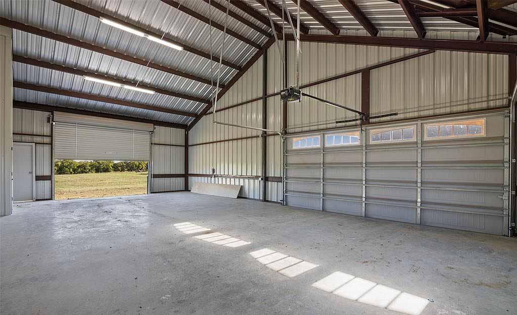 large garage on a residence